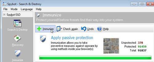Spy immunize